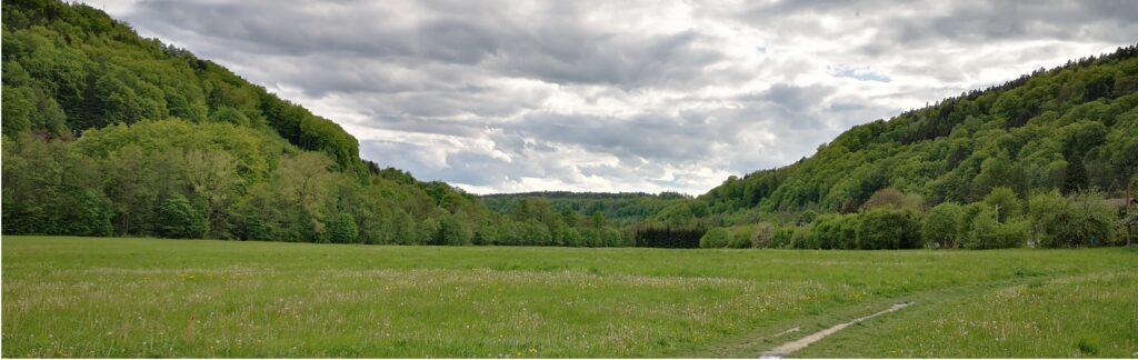Zelené údolí