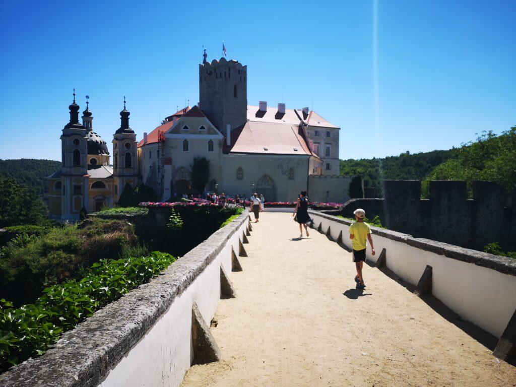 Vranov nad Dyjí zámek
