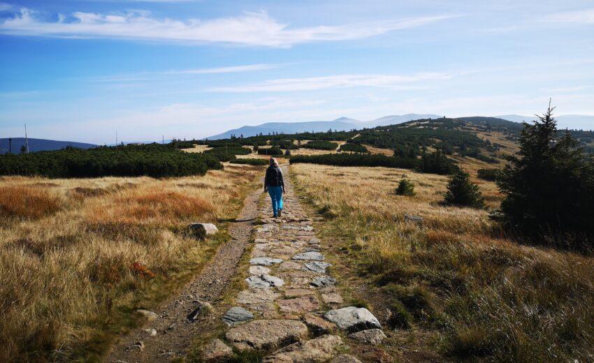 cesta Krkonoše